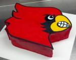 Cardinals Cake